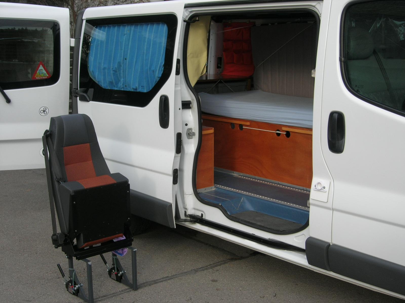 opel vivaro camper wallpaperscraft. Black Bedroom Furniture Sets. Home Design Ideas